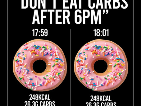 Why You Shouldn't Eat Carbs After 6pm 🍩
