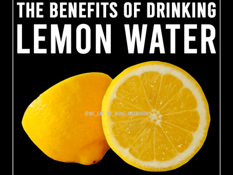 The Benefits Of Drinking Lemon Water 🍋