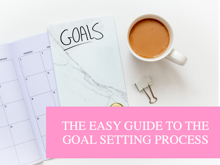 The Easy Guide to the Goal Setting Process