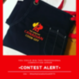 Healthy Canadian Cook-Off Contest Alert | Tammy-Lynn McNabb | Win a Professional Competition Apron