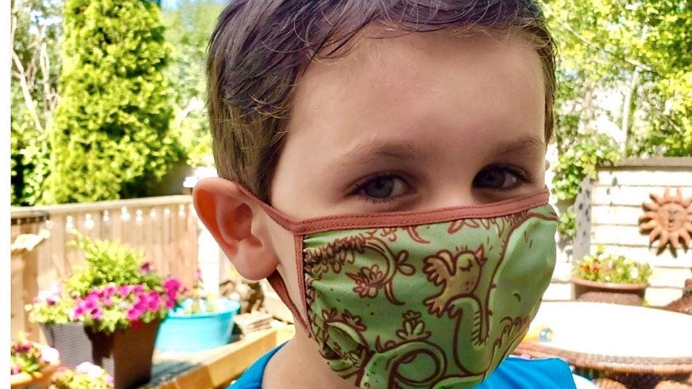 Ezra The Elephant Children's Face Mask
