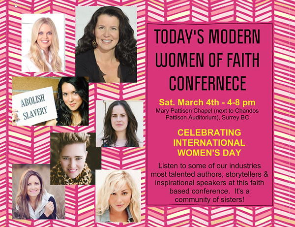 Today's Modern Women of Faith Conference March 5, 2016
