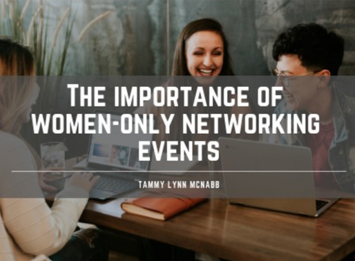 The Importance of Women Only Networking Events
