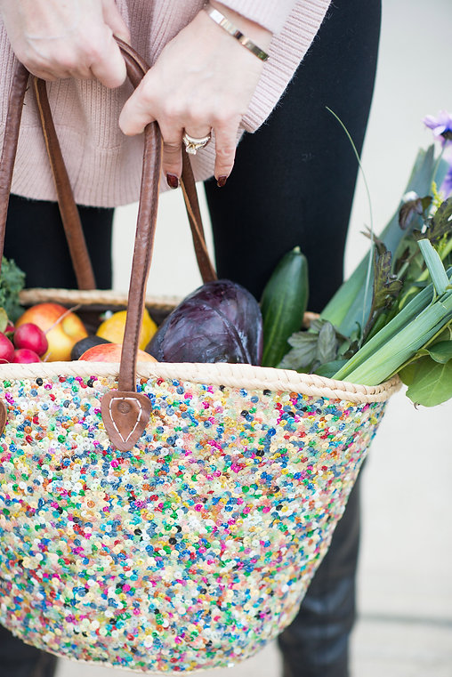 Bag fille with vegetables from Farmers Market Tammy-Lynn McNabb | ターミーみくなぶ