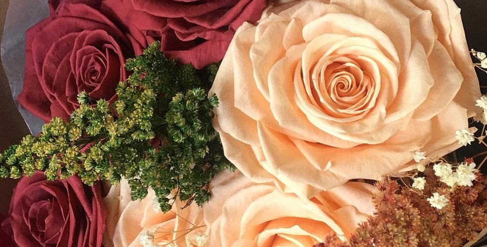 6 Rosas, 2 Colores