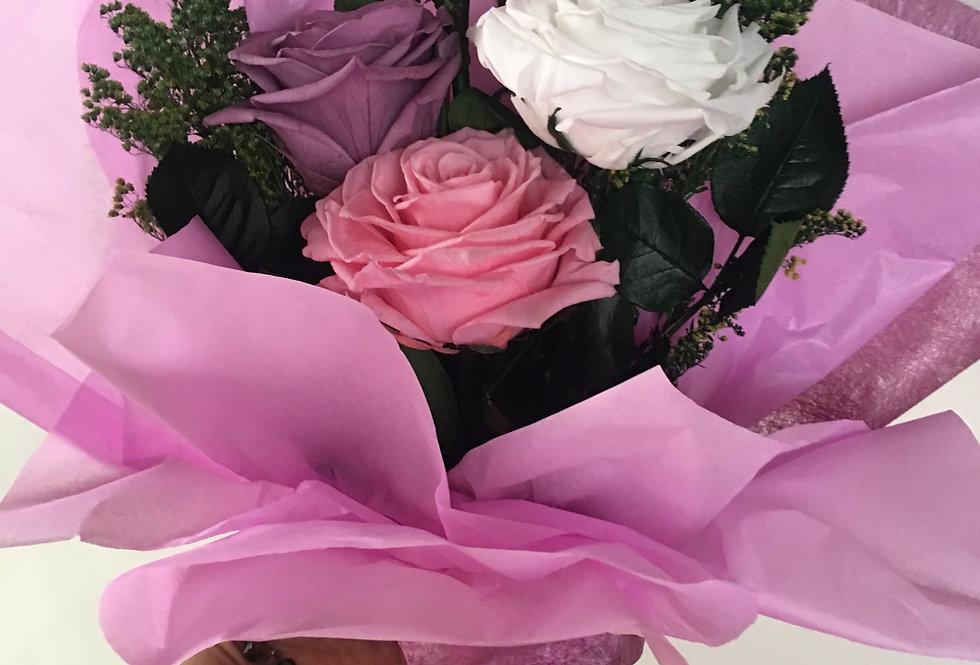 4 Rosas Premium, 4 Colores 1