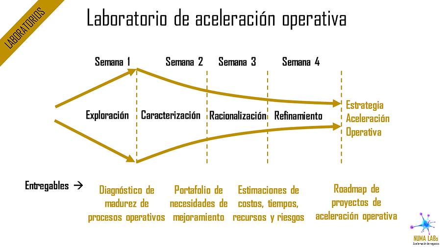 Laboratorios de Aceleración Operativa | NUMA LABs