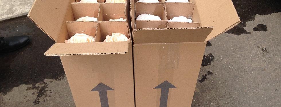 Caja De Rosas Premium 6 Unidades