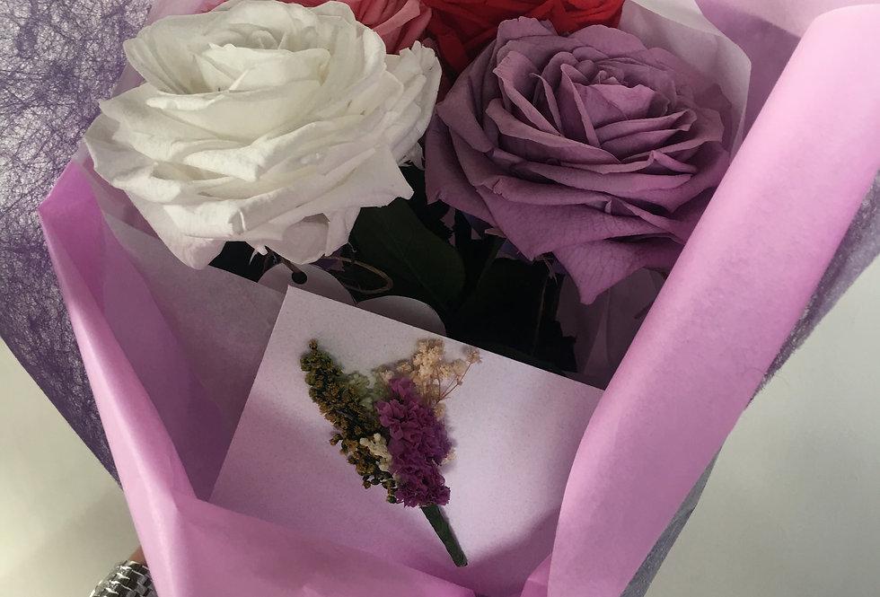 3 Rosas Premiun, 3 Colores