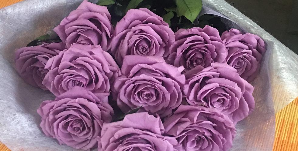 12 Rosas Premium Unicolor 1