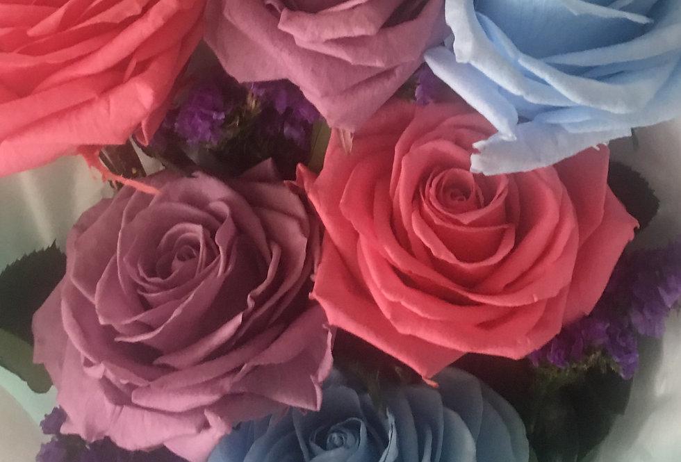 6 Rosas, 3 Colores