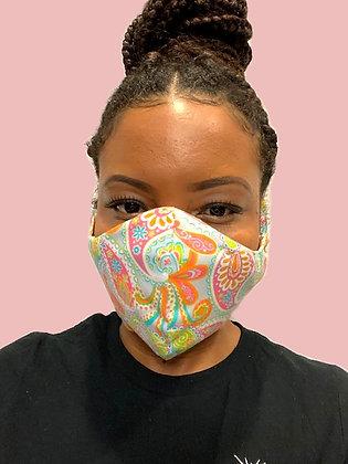 ZL Paisley Face Mask