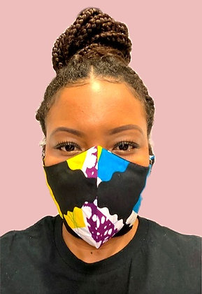 ZL Kente Face Mask