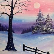Twilight Snowfall