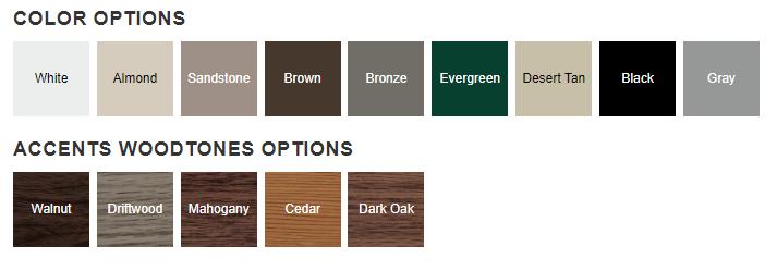 4250 Color Options