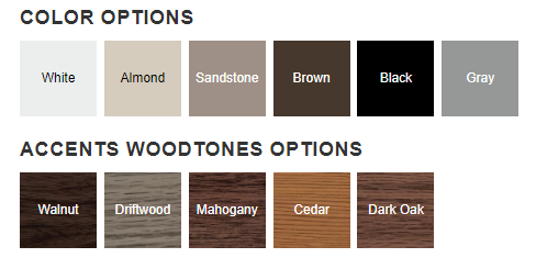 2157 Color Options