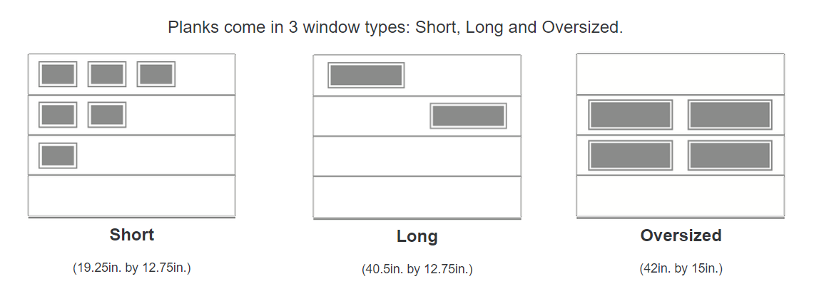 Planks Window Options