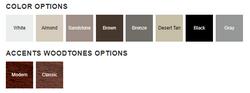 2550 Color Options