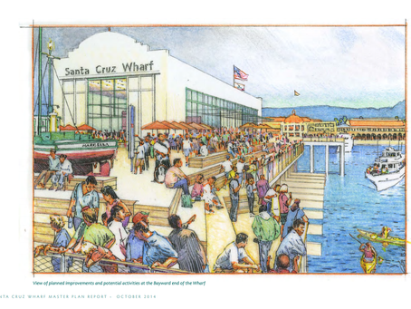 True to form, the City Council votes 5-2 to approve the Wharf Master Plan