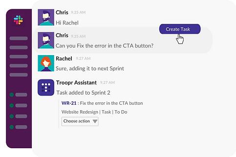 Convert Slack messages to Jira tasks