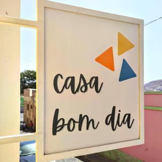 Casa Bom Dia outside