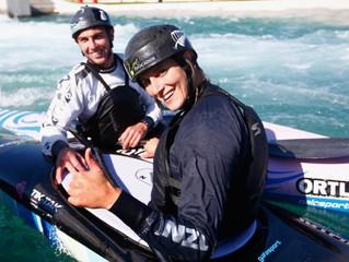 Kiwi canoe slalom pair say Rio venues progressing well