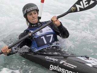 Jones makes fast kayaking start