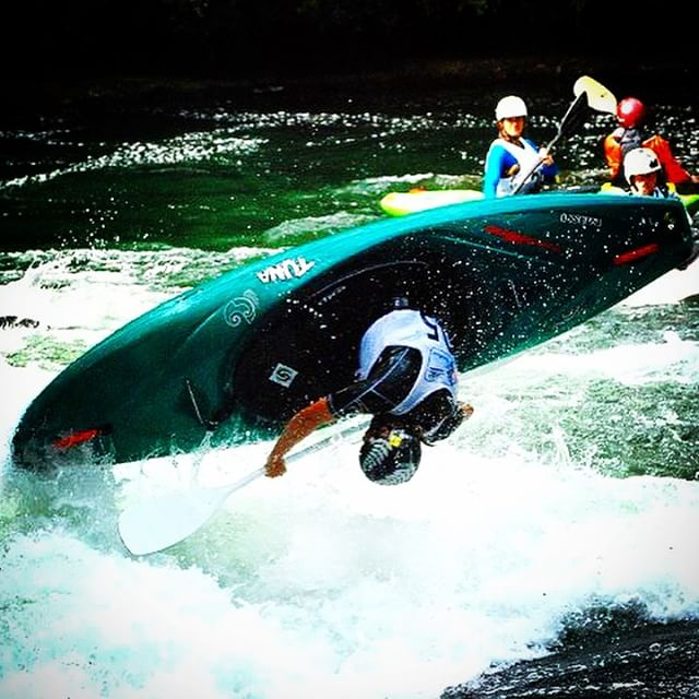 Instagram - Looking forward to getting back in my creek boat on the Kaituna next weekend #tb #kayakl