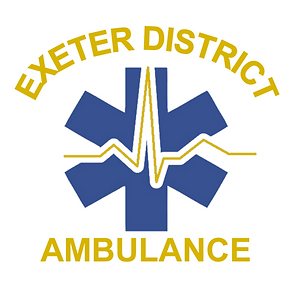 Exeter Ambulance EDA Logo with Lettering