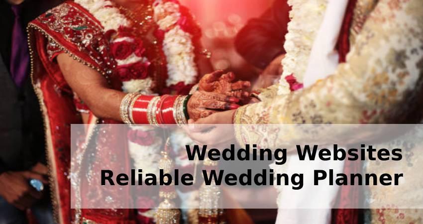 Wedding Websites - Reliable Wedding Planner