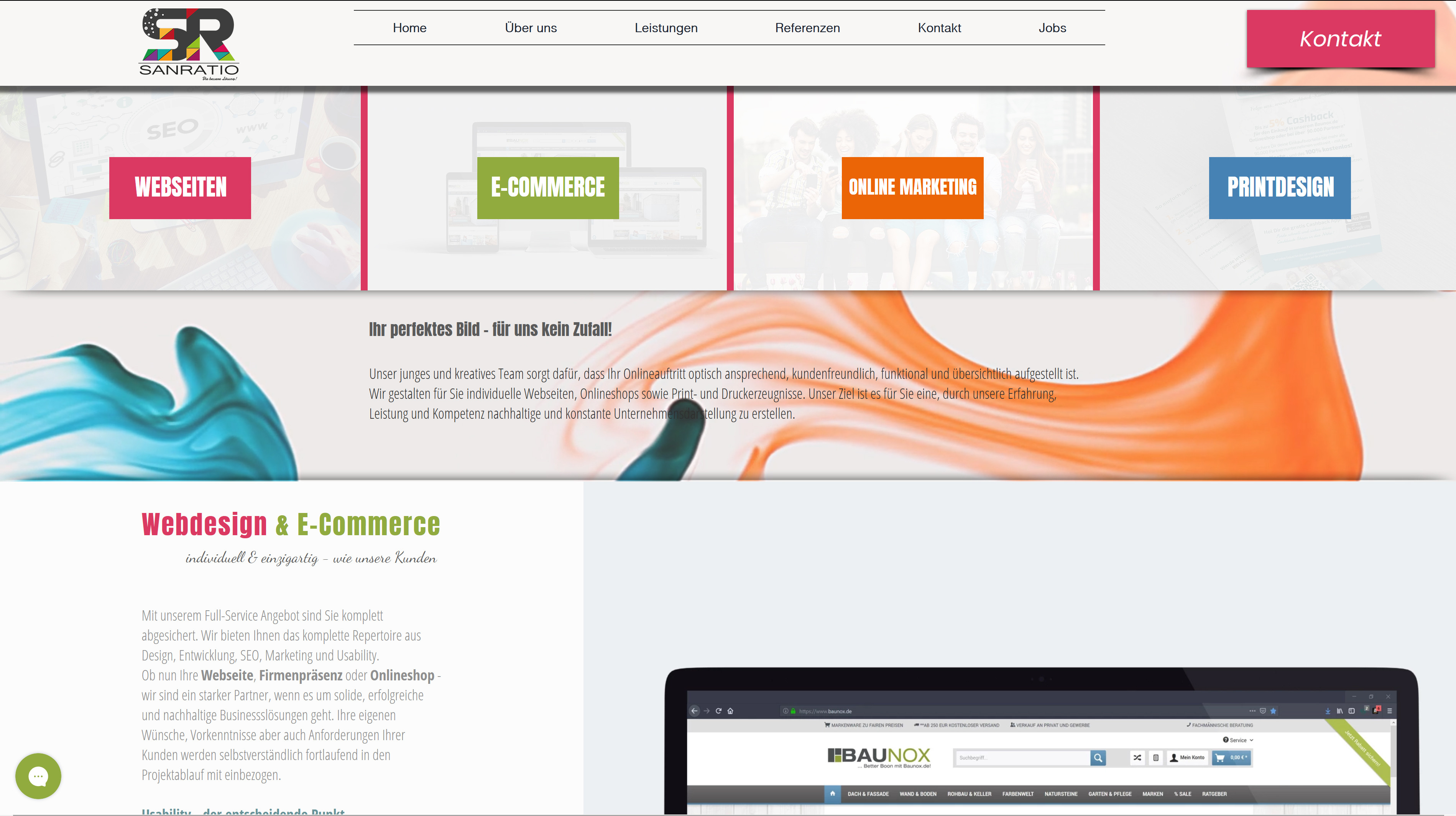 Webdesign Printdesign Corporate Design Visitenkarten