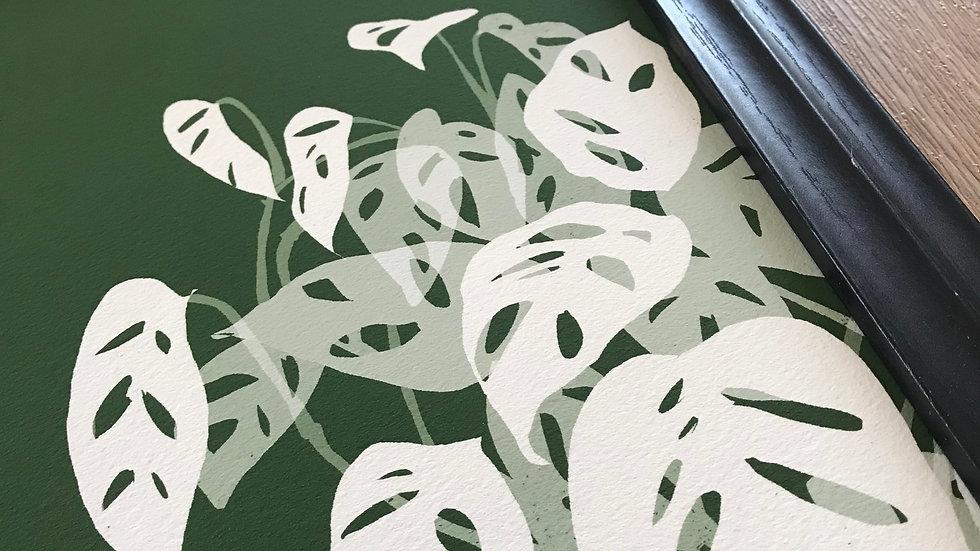 Leafy white