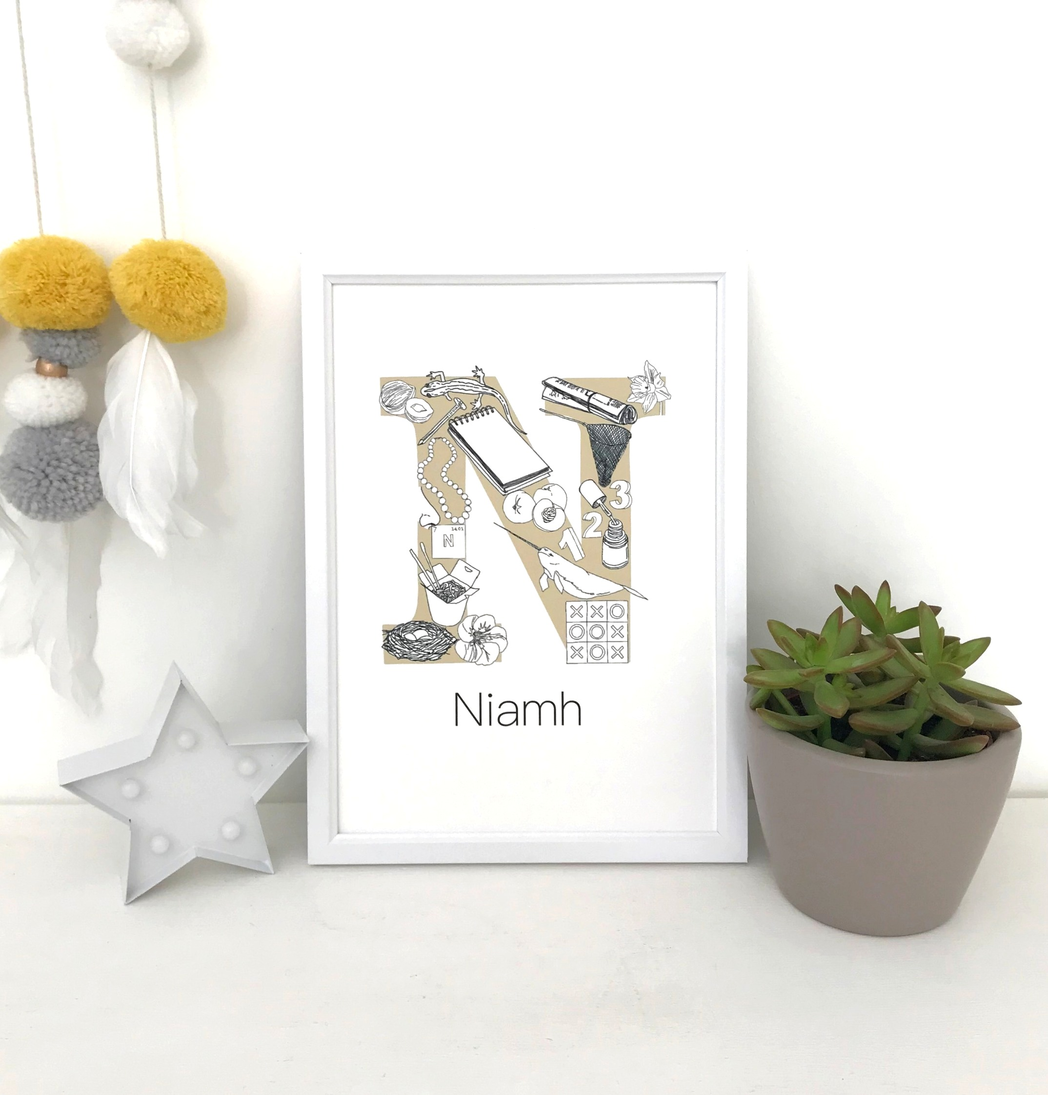PERSONALISED NAME PRINTS