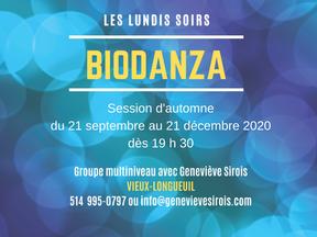 Groupes hebdomadaires de Biodanza