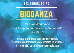 Groupes de Biodanza - Session d'automne