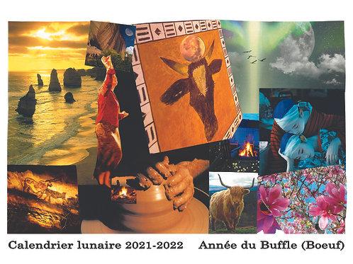 Calendrier lunaire -  2021-2022- Année du Buffle (Boeuf)