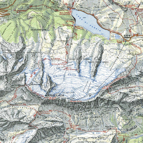 map marmolada