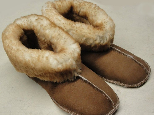 Ladies Sheepskin Shearling Slippers