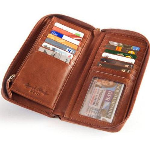 Osgoode Marley RFID Zip Around Clutch Wallet