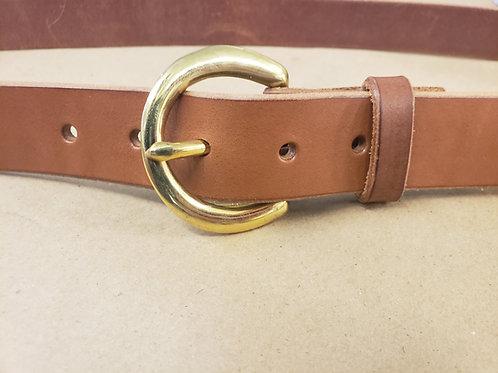 Golden Brown Harness Belt No Nameplate