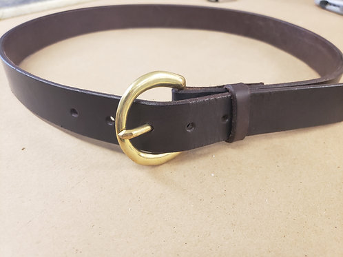 Dark Brown Harness Belt