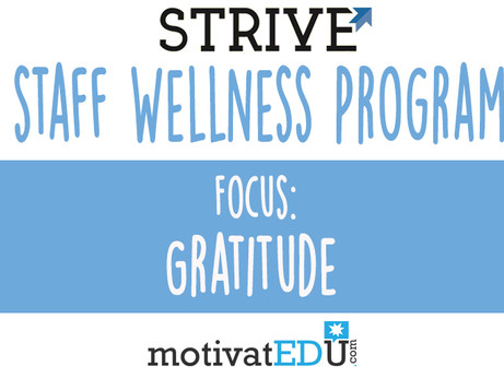 Gratitude - Staff Wellness Program