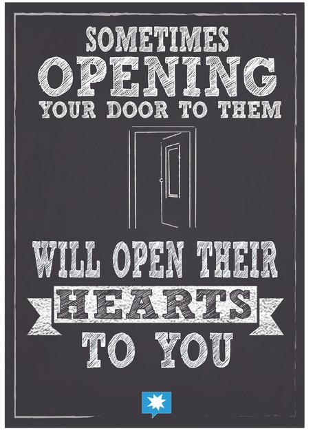 Sometimes opening the door to them.jpg