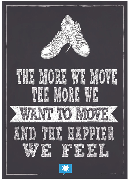 the move we move, the more we want to mo