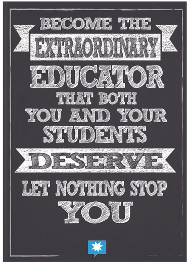 Become the extraordinary teacher you des