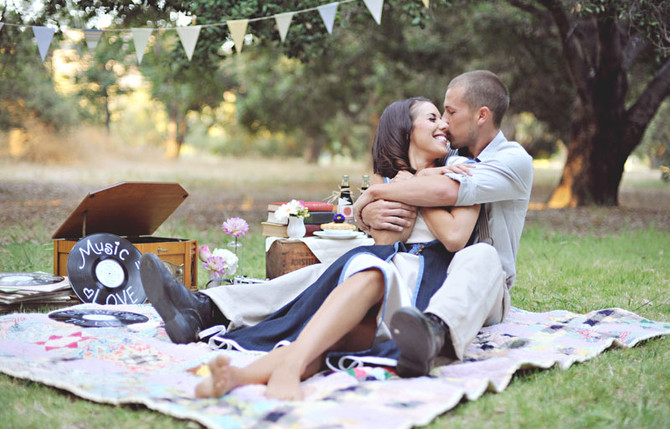 Фотосессия пикника.