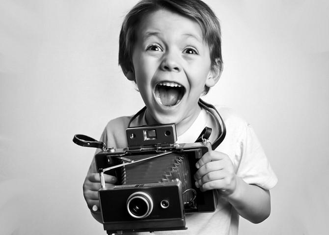 Профессия фотографа.