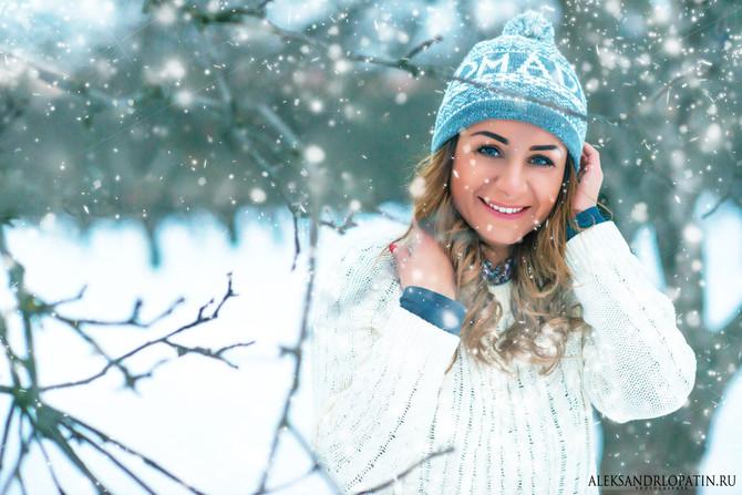 Зимняя фотосессия.