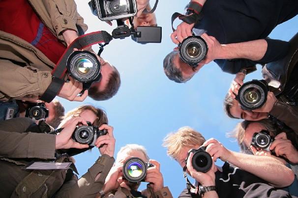 Фотографы города.