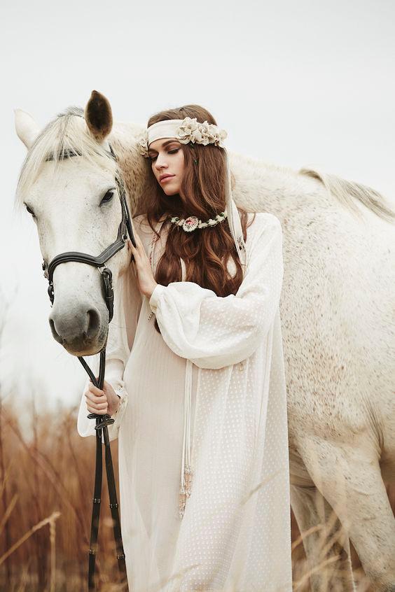 Фотосессия с лошадьми.